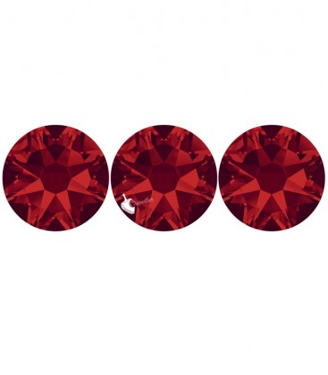 Flat Backs No Hotfix Swarovski® Xilion Rose 2058 SS16 3,90 mm Light Siam (36 pezzi)