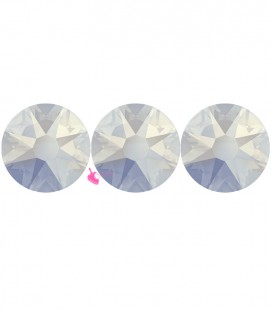 Flat Backs No Hotfix Swarovski® Xilion Rose 2058 SS16 3,90 mm White Opal (36 pezzi)