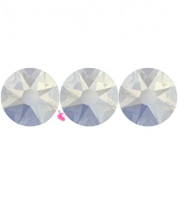 Flat Backs No Hotfix Swarovski® Xilion Rose 2058 SS16 3,90 mm White Opal (36 pezzi)