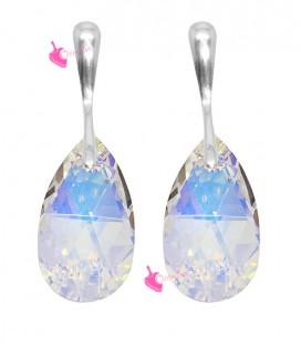 Orecchini Goccia Swarovski Crystal AB (Esempio Bijoux)