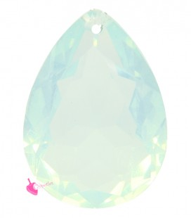 Pendente Goccia Resina 25x18 mm Chrysolite Opal