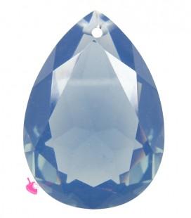 Pendente Goccia Resina 25x18 mm Montana Blue Opal