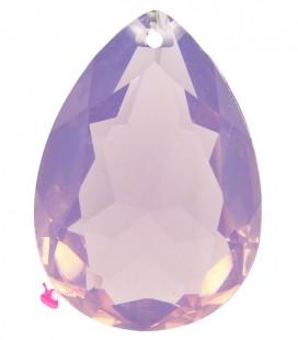 Pendente Goccia Resina 25x18 mm Cyclamen Opal
