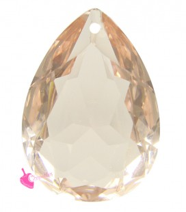 Pendente Goccia Resina 25x18 mm Light Rose Peach