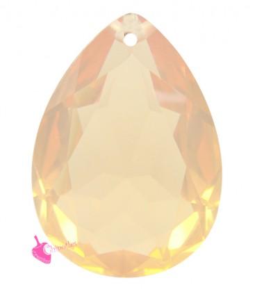 Pendente Goccia Resina 25x18 mm Light Peach Opal