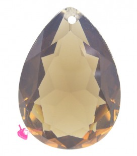 Pendente Goccia Resina 25x18 mm Peach Opal