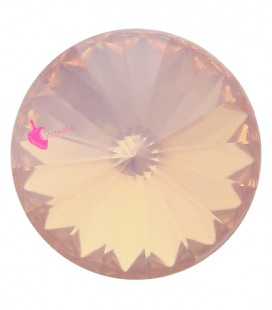Rivoli in Resina 12 mm Rose Peach Opal