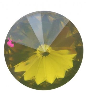 Rivoli in Resina 12 mm Khaki Opal