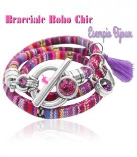 Kit Bracciale Etnico Boho Chic (Esempio Bijoux)