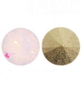 Chaton in Resina SS38 7,9 mm Rose Water Opal