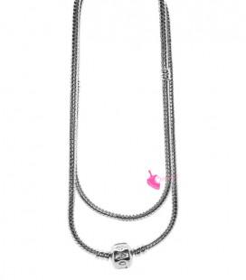 Base Collana per Perle Foro Largo Ottone 50 cm Vari Colori