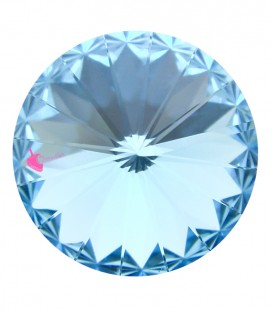 Rivoli SWAROVSKI® 1122 12 mm Aquamarine (2 pezzi)