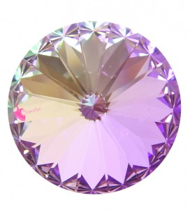 Rivoli SWAROVSKI® 1122 12 mm Crystal Vitrail Light (2 pezzi)