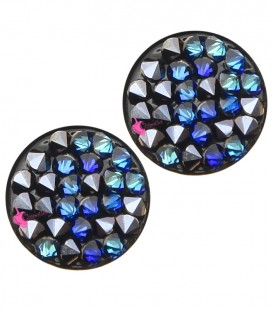 Crystal Rock Swarovski® 15 mm Crystal Bermuda Blue