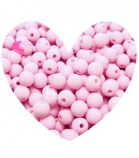 Perle Acrilico Opache 6 mm Pink (100 pezzi)
