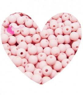 Perle Acrilico Opache 6 mm Light Pink (100 pezzi)