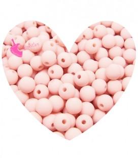 Perle Acrilico Opache 6 mm Seashell Pink (100 pezzi)
