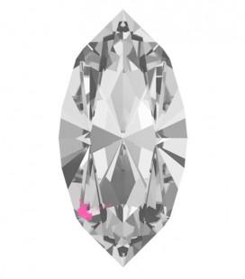 Navette Swarovski® 4228 15x7 mm Crystal (2 pezzi)