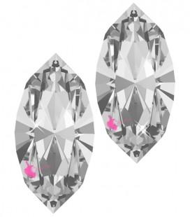 Navette Swarovski® 4228 10x5 mm Crystal (12 pezzi)