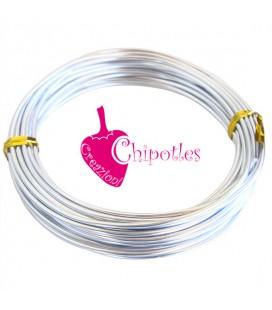 Filo Alluminio 2 mm color Argento (10 metri)