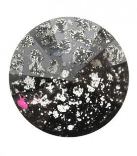 Rivoli Swarovski® 1122 12 mm Crystal Black Patina (2 pezzi)