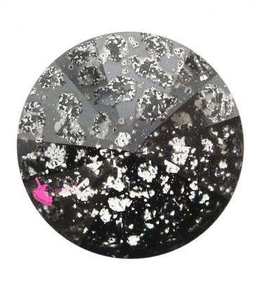 Rivoli Swarovski® 1122 12 mm Crystal Black Patina