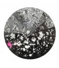 Rivoli Swarovski® 1122 12 mm Crystal Black Patina (2 pezzi)