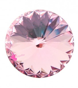 Rivoli Swarovski® 1122 12 mm Light Rose (2 pezzi)