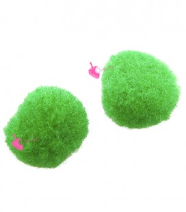 Pon Pon 8 mm Verde (20 pezzi)