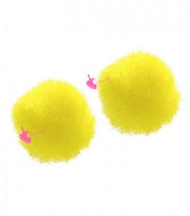 Pon Pon 8 mm Giallo (20 pezzi)
