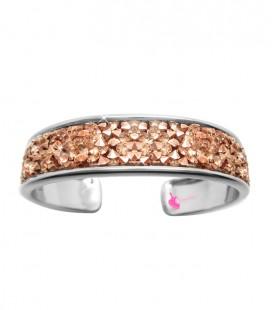 Kit Bijoux Crystal Bangle colore Rose Gold
