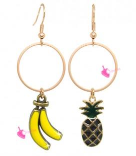 Kit Bijoux Orecchini Frutta Esotica
