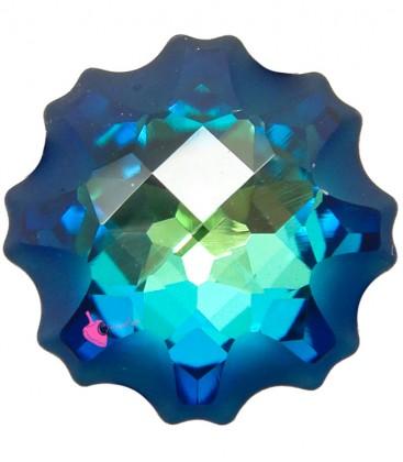 Jelly Fish Swarovski® 4195 14 mm Crystal Bermuda Blue