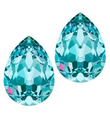 Goccia Swarovski® 4320 14x10 mm Light Turquoise