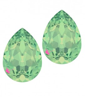 Goccia Swarovski® 4320 14x10 mm Chrysolite Opal