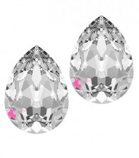 Goccia Swarovski® 4320 14x10 mm Crystal