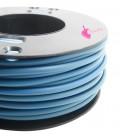 Cordoncino PVC 4 mm Forato colore Avio (1 metro)