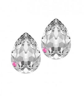 Goccia Swarovski® 4320 10x7 mm Crystal