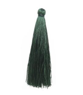 Nappina Lunga Seta Sintetica 70 mm colore Verde Scuro