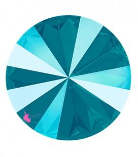Rivoli Swarovski® 1122 12 mm Crystal Azure Blue (2 pezzi)