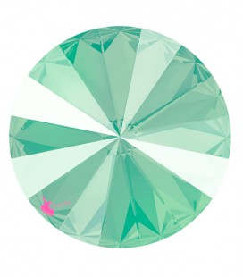 Rivoli Swarovski® 1122 12 mm Crystal Mint Green (2 pezzi)
