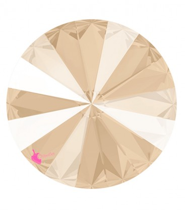 Rivoli Swarovski® 1122 12 mm Crystal Ivory Cream