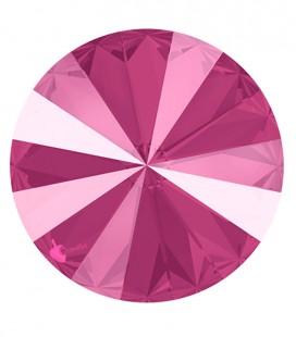 Rivoli Swarovski® 1122 12 mm Crystal Peony Pink (2 pezzi)