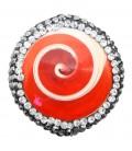 Perla Conchiglia 26x25 mm con Strass e Marcasite