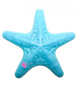 Perla Stella Marina Grande Resina 50x52 mm color Turchese