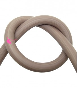 Cordoncino PVC 8 mm Forato colore Beige (50 cm)