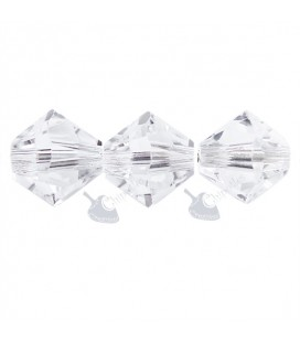 Biconi Swarovski® 5328 6 mm Crystal 001