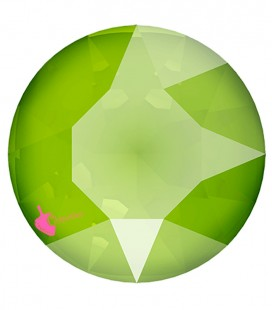 Chaton Swarovski® 1088 SS39 8 mm Crystal Lime (6 pezzi)
