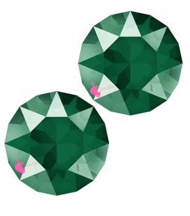 Chaton Swarovski® 1088 SS29 6 mm Crystal Royal Green