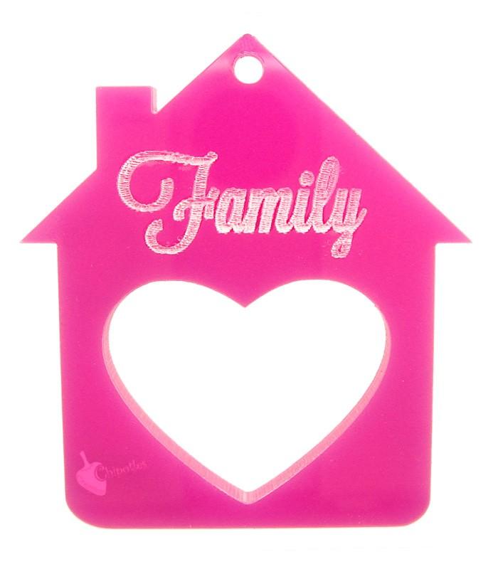 2 CHARMS CIONDOLI CASETTA ROSA metallo smaltato 26x21 mm pink house pendants